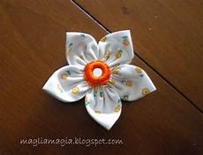 fiori in tessuto tutorial magliamagia fiori di stoffa tutorial