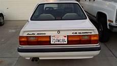old car manuals online 1987 audi 4000cs quattro electronic throttle control 1987 audi 4000 cs quattro for sale audi 4000 quattro 1987 for sale in stockton california