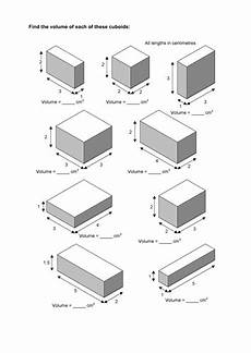 maths ks2 ks3 ks4 foundation volume of cuboids with a wide range of differentiated worksheets