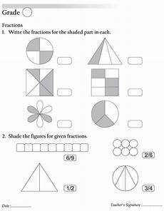 fraction worksheets shaded unshaded 4095 fractions free fractions for best coloring pages