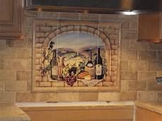 decorative tile backsplash kitchen tile ideas tuscan