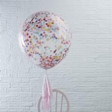 ballons mit konfetti ballons mit konfetti bunt 3 st weddix de