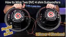 2 ohm subwoofer parallel wiring diagram subwoofer wiring parallel series