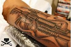 gun tattoo images designs