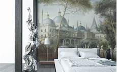 Papier Peint Design Decorating Painting Grisaille