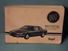 manual cars for sale 1994 buick regal user handbook 94 1994 buick regal owners manual ebay