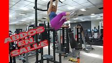 Abdominaux En Salle De Musculation Avec Poids De Corps