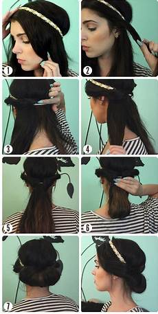 Coiffure Headband Cheveux Longs Mi Longs