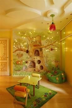 Wandbemalung Kinderzimmer Selber Machen - kinderzimmer m 228 dchen wandmalerei m 228 rchenwald