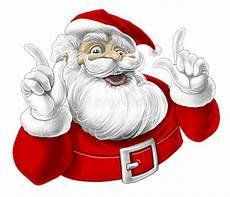 santa claus singing laughing stock illustration