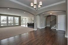 i love everything about this color of the walls floor the open concept just is