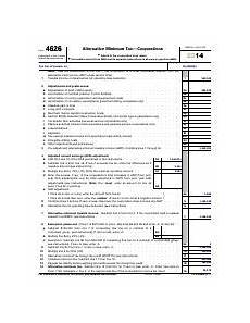 f4626 form 4626 department of the treasury internal