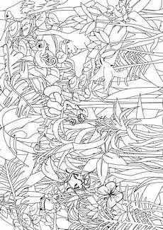 jungle animals coloring pages for kindergarten 17049 jungle coloring search for pre k and kindergarten from www kigaportal boyama