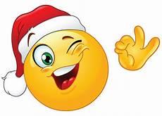 winking santa smiley emoticon smiley emoticon und emoji