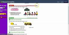 pearson successnet answer sheet how to use pearsonsuccessnet to access the foresman math text youtube