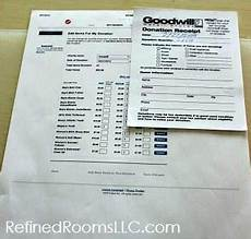 organizing charitable donation records for tax time