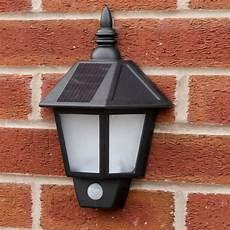 solar perpignan wall light black outdoor solar security welcome wall light with pir best solar garden lights manufacturer