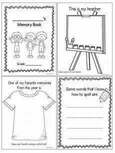 end of year memory book tpt language arts lessons