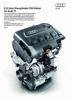 170 hp tdi engine for the audi tt coupe and roadster