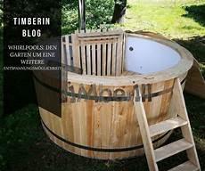 Whirlpool Mit Holz Heizen F 252 R Den Garten
