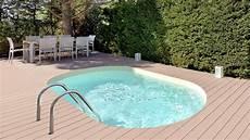 mini piscine enterrée piscine mini la piscine ovale piscines