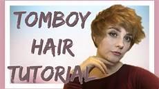 Tomboy Hair Tutorial Update