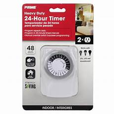 shop prime 15 2 outlet mechanical residential plug in countdown lighting timer at lowes com