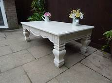 Shabby Chic Large Country Coffee Table Sold
