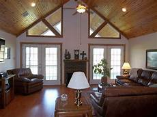 Decorating Ideas For Vaulted Ceiling Living Rooms by 20 Spacey Cathedral Ceiling Living Room Designs