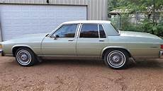 1985 buick lesabre limited collector s edition diesel youtube