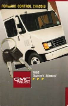 small engine repair manuals free download 1992 gmc 1500 parking system 1992 gmc truck forward control chassis owner s manual