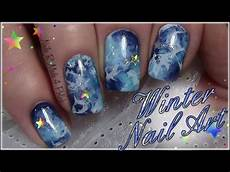 winter nails with easy nail design tutorial