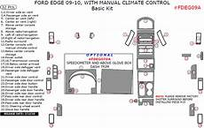 car maintenance manuals 2012 ford edge engine control 09 10 ford edge basic dash kit w manual climate control 32 pcs auto accessories