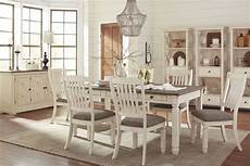bolanburg white and gray rectangular dining room from coleman furniture