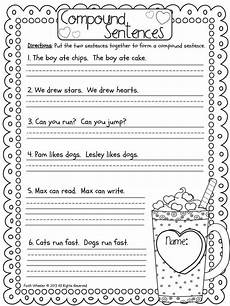 writing sentences worksheets for grade 1 22104 freebie compound sentences and many more resources kinder 1st grade writing