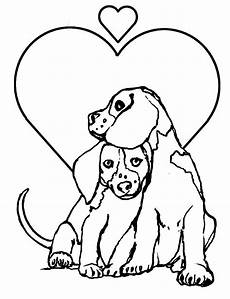 for children loving dogs dogs coloring pages