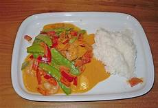 Rotes Thai Curry Mit Crevetten Sabrini11 Chefkoch De