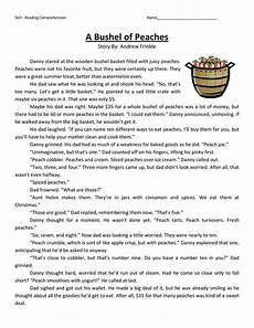 comprehension worksheets 15452 4th grade reading comprehension worksheets best coloring pages for