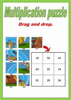 multiplication worksheets puzzle 4547 single digit multiplication puzzle interactive worksheet