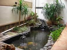 Desain Taman Dan Kolam Ikan Minimalis Dalam Rumah