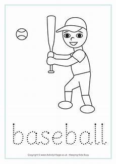 sports tracing worksheets 15881 baseball word tracing