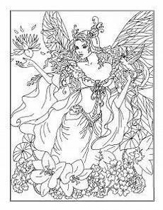 Ausmalbilder Elfen Und Drachen Ein H 252 Bsches Ausmalbild Einer Fee Die Malvorlage Kannst