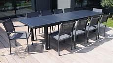 table de jardin extensible 12 personnes table jardin extensible rallonge
