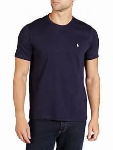 polo ralph crew neck lounge t shirt navy at