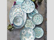 Veracruz Blue Outdoor Melamine Dinnerware Collection