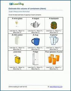 printable measurement worksheets for grade 3 1687 grade 3 measurement worksheet on metric measures of capacity with images measurement