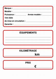 Papiers Vendre Voiture Occasion Le Monde De L Auto