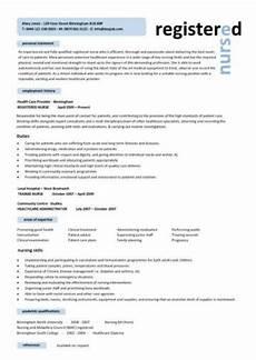nursing cv template nurse resume exles sle registered resumes healthcare work
