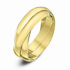theia russian wedding ring 9kt yellow gold 3mm russian wedding ring