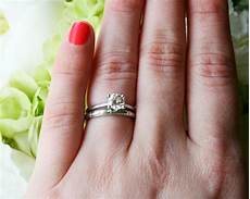 unique how does the engagement ring and wedding band work matvuk com